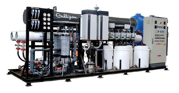 Custom water treatment system for manufacturing applications